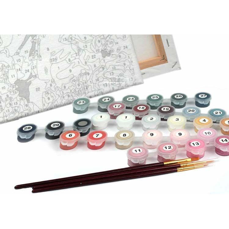 Картины раскраски по номерам на холсте для детей