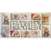 Рамка для фотоколлажей на 10 фотографий Family