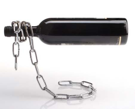 Подставка для бутылки - цепь