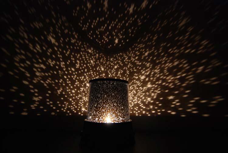 Звёздный проектор своими руками 995