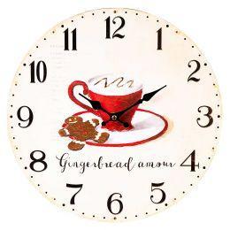 Часы настенные в кухню «Cooking» 34 см.