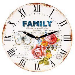 Часы настенные «Family» 29 см.