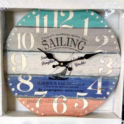 """купить настенные часы """"Sailing"""""""