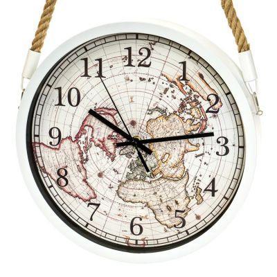 Часы морские «Карта мира»