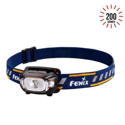 Фонарь налобный Fenix HL15 черный