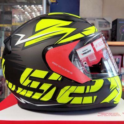 Шлем LS2 FF353 Rapid Cromo Matt Black Hi-Vis Yellow