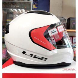 Шолом LS2 FF353 Rapid Single Mono Gloss White