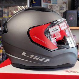 Шлем LS2 FF353 Rapid Single Mono Matt Titanium