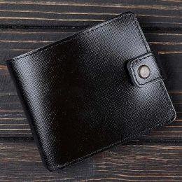 Кошелек v.1.0. Business Портофино Черный (кожа)