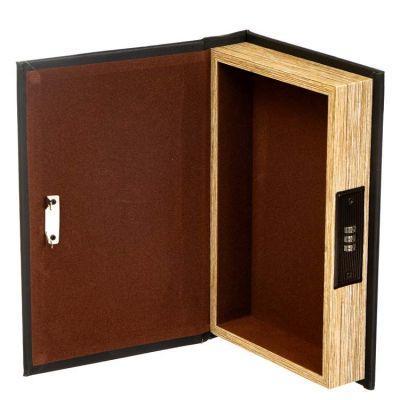 Книга сейф с кодовым замком