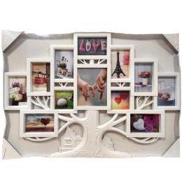 Рамка на 12 фотографий Семейное дерево