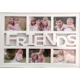 Коллаж на 6 фотографий Friends