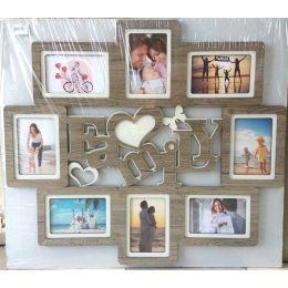 Рамка на 8 фотографий Family