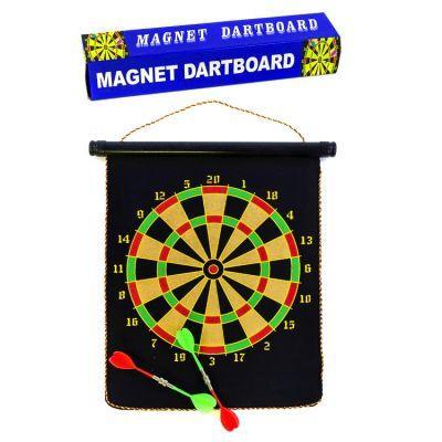 Дартс магнитный, двусторонний (40*32 см. - 4 дротика)