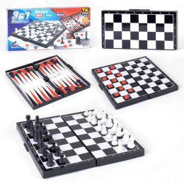 Шахматы, шашки, нарды (мини)