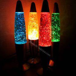 Глиттер лампа с блестками