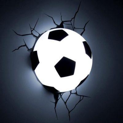 3D Ночник «Футбольный мяч»