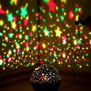 Обертовий нічник проектор зоряного неба