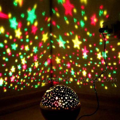 Вращающийся ночник проектор звездного неба