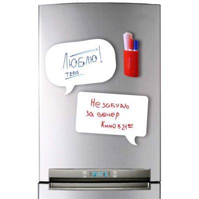 купить Магнитную доску на холодильник (маркерная чат)