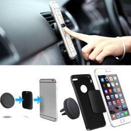 Магнитный автомобильный держатель смартфона (2 в 1)