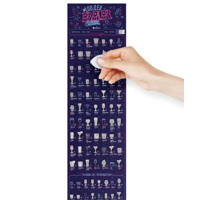 Скретч постер #100 Дел Bar Edition