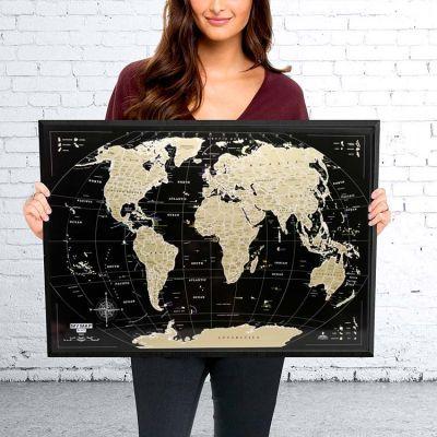 Скретч карта мира My Map Black Edition Mini
