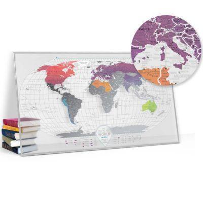 Купить скретч карту мира Travel Map Air World