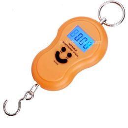 Портативные электронные весы (кантер) 40 кг