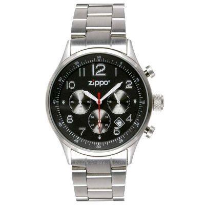 Часы Хронограф Zippo 45001 CHRONOGRAPH BLACK