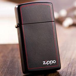 Зажигалка Zippo 1618ZB Slim Black Matte