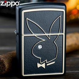 Зажигалка Zippo 28816 Playboy Black Matte