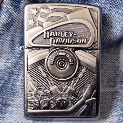 Зажигалка Zippo 29266 Harley-Davidson Motor Flag