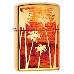 Зажигалка Zippo 29420 Fuzion Palm Tree Sunset