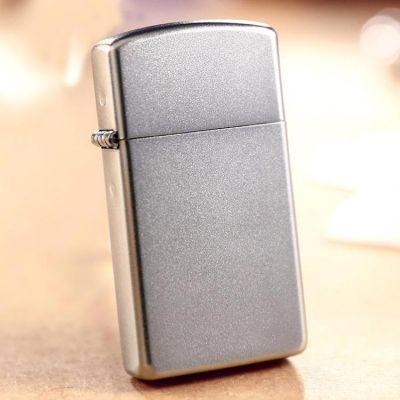 Купить Зажигалку Zippo 1605 Slim Satin Chrome