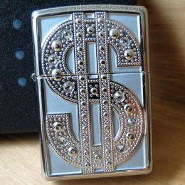 Зажигалка Zippo 20904 Bling Emblem (Dollar)
