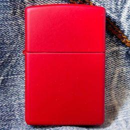 Зажигалка Zippo 233 Red Matte