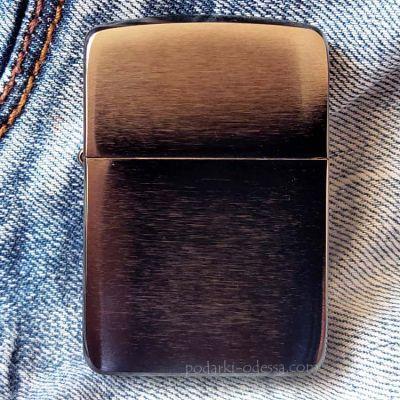 Зажигалка Zippo 24096 Black Ice 1941 Replica