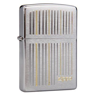 купить зажигалку Zippo 28646 Engraved Vertical Lines