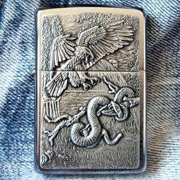 Зажигалка Zippo 29637 Eagle vs Snake