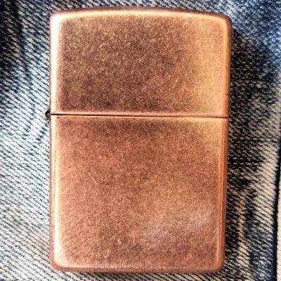 Зажигалка Zippo 301FB Antique Copper