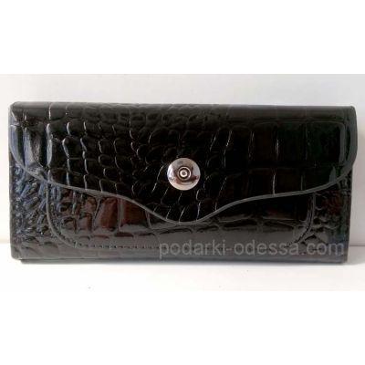 Женский кошелек 01-308 black