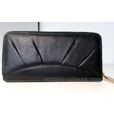 Кожаный женский кошелек-клатч F.SALFEITE