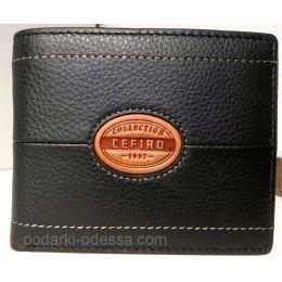 Кожаный мужской кошелек CEFIRO