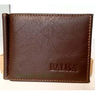 Зажим для денег кожаный BALISA