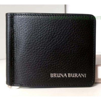 Зажим для денег кожаный BRUNA BURANI