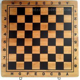 Шахматы + нарды из дерева 40х40