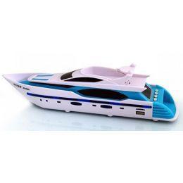 Портативная колонка-mp3 плеер Яхта (USB, SD, FM, 3.5 мм)