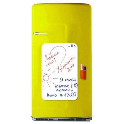 Магнітна дошка на холодильник (маркерная прямокутна)