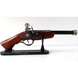 Зажигалка пистолет мушкет